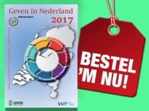 Bestel nu: de jubileum-editie Geven in Nederland 2017